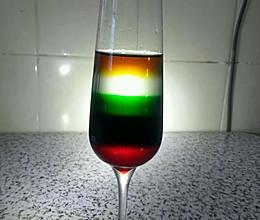 彩虹鸡尾酒的做法