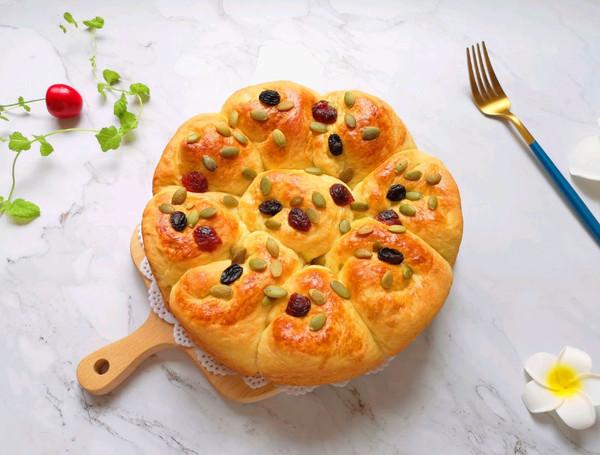 淡奶油甜面包的做法