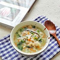 菠菜香菇肉末粥#宝宝餐#的做法图解8