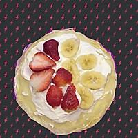 草莓香蕉双拼千层蛋糕的做法图解7