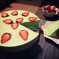 酸奶草莓慕斯