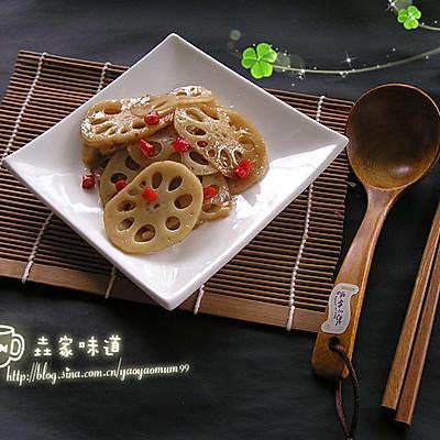 夏季里的开胃菜——【糖醋藕片】