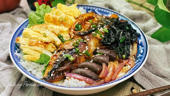 日式定食-照烧青花鱼盖浇饭 #烤究美味 灵魂就酱#的做法