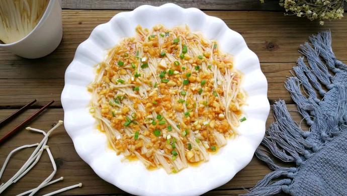 蒜蓉金针菇