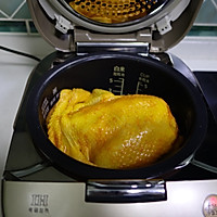 电饭锅版盐焗鸡的做法图解5