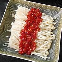 剁椒金针菇 #美极鲜味汁#的做法图解3