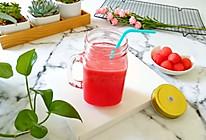 冰镇西瓜汁#夏日冰品不能少#的做法