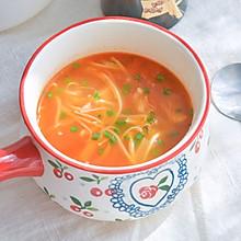 #今天吃什么#酸酸甜甜的茄汁金针菇