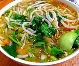 #换着花样吃早餐#小锅米线的做法