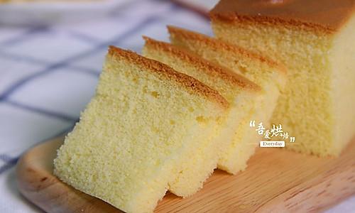 真正的软妹子-----棉花蛋糕的做法