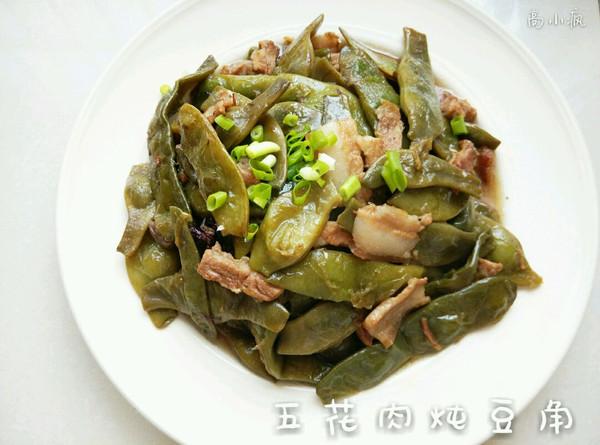 东北带表菜|五花肉炖豆角的做法