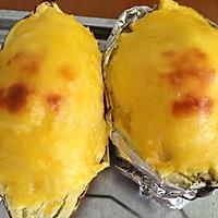 芝士焗红薯的做法图解11
