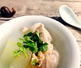 腔骨冬瓜汤的做法