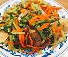 低热量炒菜的做法