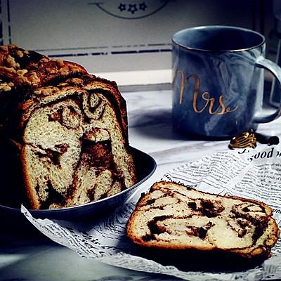 面包机版巧克力酱面包
