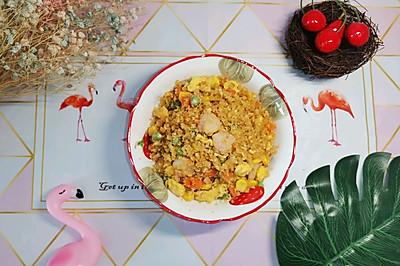 无米版炒饭(减脂菜单)