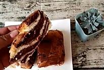 斑马纹蛋糕的做法