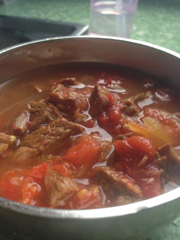 牛肉炖西红柿的做法