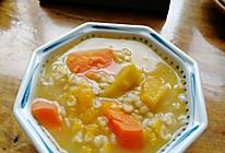 健康得不要不要的南瓜燕麦粥的做法