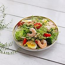 轻食主义-藜麦鸡肉蔬菜沙拉