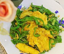 青椒炒海鸭蛋的做法