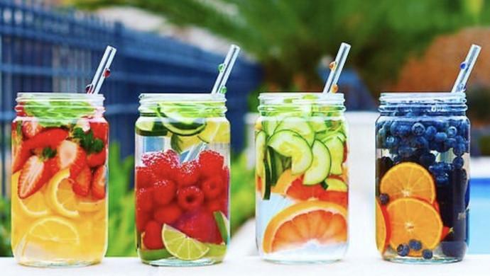 夏日特饮—Detox water(健康排毒水)