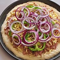 COUSS特约食谱——金枪鱼培根披萨的做法图解9