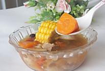 山药玉米瘦肉汤的做法