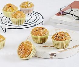 南瓜蜜豆麦芬蛋糕的做法