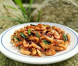 炒河虾的做法