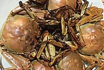 干煎河蟹的做法