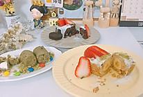 巧克力酥 奥利蜜豆味 香蕉牛奶味 抹茶酸奶夹心棉花糖的做法