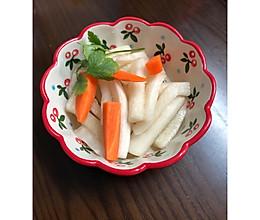 爽脆酸甜萝卜泡菜的做法