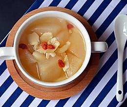 雪梨百合汤的做法
