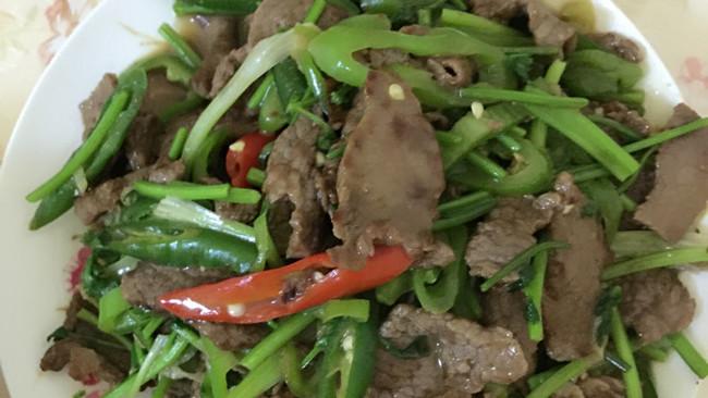 辣椒小牛肉的做法
