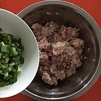 韭菜鸡蛋抱煎饺(附饺子包法)的做法图解2