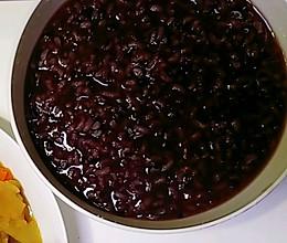 黑米稀饭(黑米粥)的做法