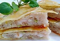 李孃孃爱厨房之一一月亮虾饼的做法