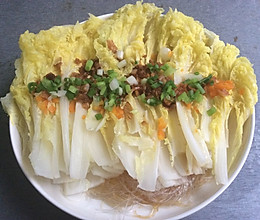 蒜蓉粉丝娃娃菜---【小丁家厨】的做法