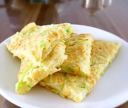 5分钟早餐——西葫芦鸡蛋饼的做法