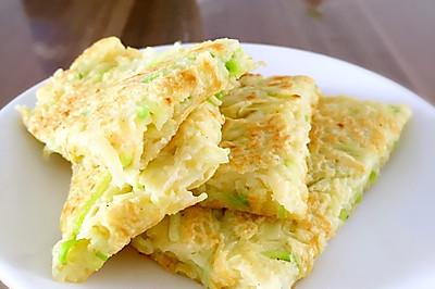 5分钟早餐——西葫芦鸡蛋饼