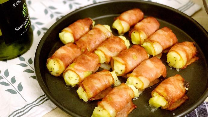 【新品】培根烤土豆泥卷