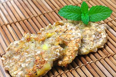 香蕉燕麦软饼干——利仁电饼档LR-FD431试用报告