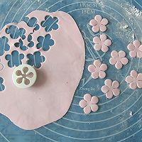 换个方式做翻糖花---翻糖蛋糕(七)---桃花盛开的做法图解20