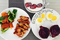 增肌减脂餐:鸡胸肉+蔬菜+鸡蛋+牛奶的做法