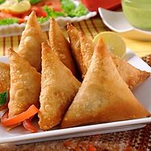 印度名吃-咖喱角Samosa,好吃又简单的三角形春卷
