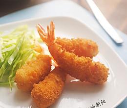 黄金炸虾的做法