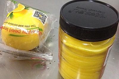 柠檬蜂蜜水(健身自制)