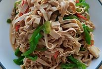 青椒豆皮的做法