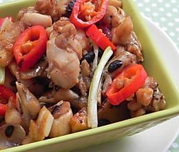红烧豆豉田鸡的做法